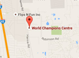 Map of World Champions Centre