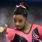 Image of Simone Biles at World Champions Centre